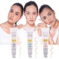 NEW LAUNCHING CC CREAM by MUSTIKA RATU Real Complexion/Brigthening/Aura 25gr