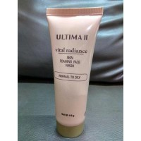 ULTIMA II VITAL RADIANCE SKIN FOAMING FACE WASH-NORMAL TO OILY