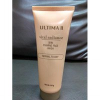 ULTIMA II VITAL RADIANCE SKIN FOMING FACE WASH-NORMAL TO DRY