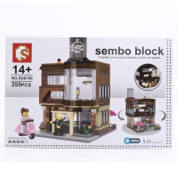 Sembo Block SD6700 Restaurant with Lightning LED
