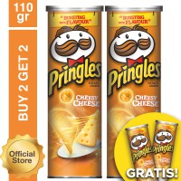 [Buy 2 Get 2 Free] Pringles CheesyCheese 110gr Free CheesyCheese 110gr