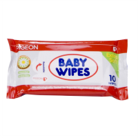 Pigeon Baby Wipes Chamomile & Rosehip Isi 10 'Sheets