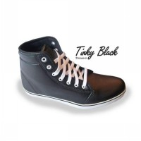 [Pioneer] Tinky Black Man Shoes kombinasi colours
