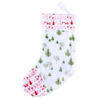 Pongs Xmas Stocking Solid Color Ass