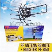 Antena PF 850 Remote Controlled Rotating | Antena + Cable + Booster 28 DB