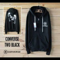 sweater converse / sweater converse shoes / sweater cotton fleece / sweater converse shoes hitam