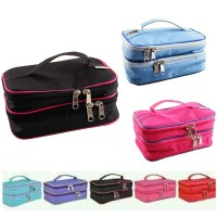WSO (Woman Stuff Organizer) Cosmetics Bag 2 tingkat