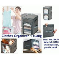 Single Clothes Organizer bahan Ripstock