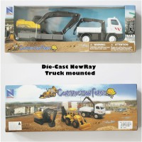 Die Cast NewRay Construction Force Truck Mounted