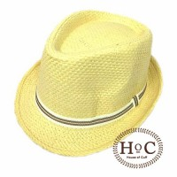 Topi Fedora Hat SOFT LEMON FEDORA