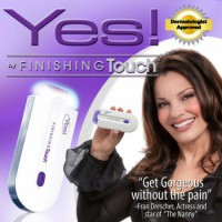 Pencukur bulu / Yes Finishing Touch No Pain Shaver