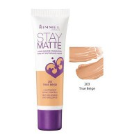 RIMMEL STAY MATTE LIQUID MOUSSE FOUNDATION TRUE BEIGE