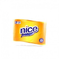 Nice Bathroom Tissue Roll 238S 6 Pcs