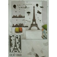 Wall Stiker 5D Paris - CLA 003