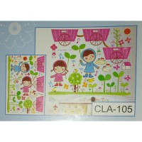 Wall Stiker 5D Imagination Land - CLA 105