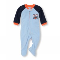 Shocking Deals Sleepsuit Place Daddy's Little All Star