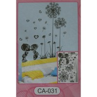 Wall Stiker 5D Kissing - CA 031