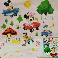 Wall Stiker 5D Disney Micky Mouse