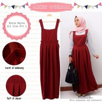 Annie Overall Maroon