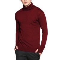 Sweater Polos Kerah Tinggi Rajutan Basic Panjang - Long Sleeve Knitt Sweater Good Quality