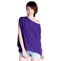Violae Code 020 Ungu Blouse Ladies