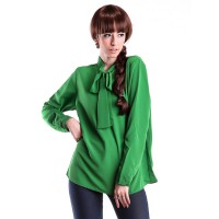 Vioale Code 086 Part 2 Hijau Blouse Green Woman