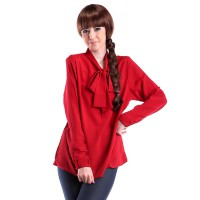 Vioale Code 086 Part 2 berbahan shilvina Merah for women