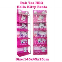 HBOZ Hello Kitty Fanta (Rak Tas Gantung Retsleting) Hanging Bag Organizer Zipper