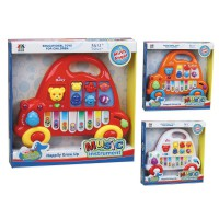 Mainan Piano Anak 'Mobil' Warna - Warni - Piano Car Kids Toy