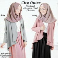 City Outer Dusty - Grey