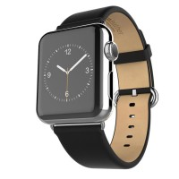 Hoco Classical Style Leather Band Apple Watch 42mm - Hitam