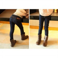 ~Cutevina~ Girl Fashion Denim / Long Jeans GZ4043
