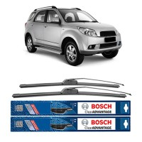 Bosch Sepasang Wiper Mobil Daihatsu Terios Frameless New Clear Advantage 21' & 18' - 2 Pcs/Set
