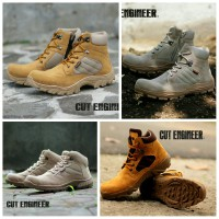 Cut Engineer safety Boots Delta High Quality