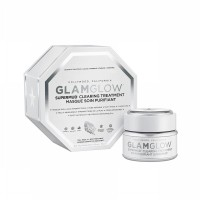 100% Original USA Product - Glamglow Supermud (with Box) Full Size 34gr / Glam Glow Putih / White