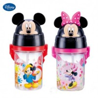 Botol Minum Mickey Minnie Disney Original Drinking Bottle Water BPA Free 400ml Anti Bocor 4153/4154
