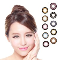 [Limited Edition] KOREAN SOFTLENS WITH 10 DESIGN OPTION RANDOM COLOR -1 YEAR USAGE ( PLANO )