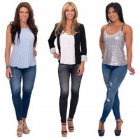 Jeans bahan legging/Jeans pelangsing/Stretch/Caresse Jean As seen TV