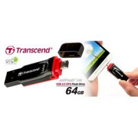 Transcend JetFlash®340 64GB USB 2.0 OTG Flash Drive