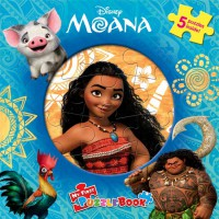 [HelloPandaBooks] My First Puzzle Book Disney Moana (5 Puzzles Inside!)