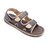 Neckermann Sandal Pria Boston 203 Dark Brown