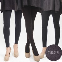 Tight-Fisted and Flesh Spring Warm Nap Leggings Mortar/Agenesis