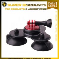 GP233 Triple Suction Cup Mount With CNC For Gopro