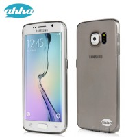 AHHA Moya GummiShell Soft Jacket Samsung Galaxy S 6 EDGE Clear-Black