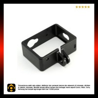 Plastic Side Frame for Xiaomi Yi Action Camera - Black
