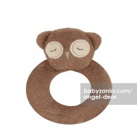 Angel Dear Ring Rattle - Owl