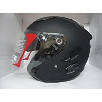 helm kyt galaxy 2 visor solid