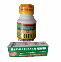 Paket Herbal Ar rijal Herbal alami 1 botol dan Hajar jahanam - 5 ml