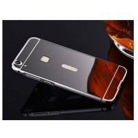 Case Vivo V3 Bumper Metal + Back Case Sliding - BLACK