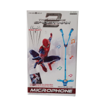 Spiderman Duo Microphone with Standing - Singing Like a Star
